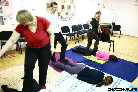 Базовый курс обучения Тайский Йога-массаж в Липецке: фотографии с семинара
